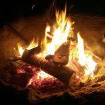 Vuur met wierook